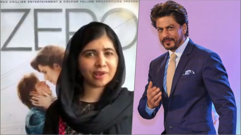 Malala Yousafzai Reviews Shah Rukh Khan's Zero Movie: Watch Video of Nobel Prize Winner Speaking Highly of King Khan!