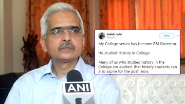 Shaktikanta Das 'MA in History' Is New RBI Governor, Twitterati Slam Decision; See Qualifications of Previous 5 RBI Governors