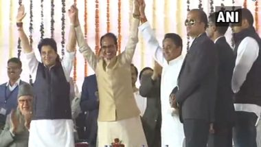 At Kamal Nath's Swearing-in, Ex-CM Shivraj Singh Chouhan 'Wins Heart Despite Loss'