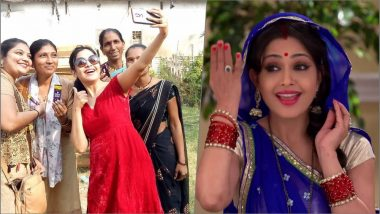 Shubhangi Atre Turns Santa for Female Workers: See Bhabiji Ghar Par Hain Actress' Pics