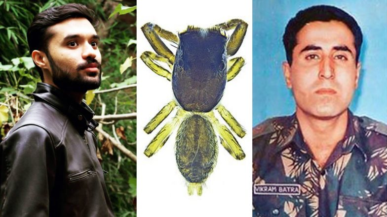New Species of Jumping Spider in Kerala Named After Kargil War Hero Capt. Vikram Batra