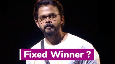 Bigg Boss 12: Sreesanth To Be The Winner? Fans Are Not Happy Already As #BBCheatedViewers Starts Trending on Twitter