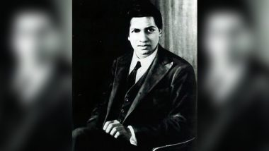 Srinivasa Ramanujan 131st Birth Anniversary: Why National Mathematics Day Is Celebrated on His Birthday?