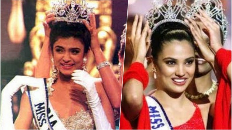 Miss Universe Winners From India: Sushmit Sen and Lara Dutta Have Won the Crown, All Eyes Now on Nehal Chudasama at Miss Universe 2018!