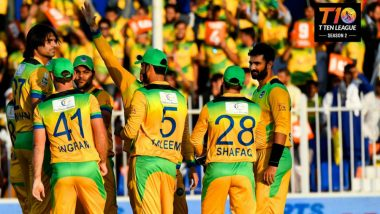 T10 League 2018 Final Live Streaming on SonyLIV: Watch Free Live Telecast of Northern Warriors vs Pakhtoons Cricket Match on TV and Online From Sharjah