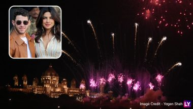 Priyanka Chopra-Nick Jonas Wedding: NickYanka's Post-Wedding Celebrations is Full of Lights and Fireworks- View Breathtaking Pics