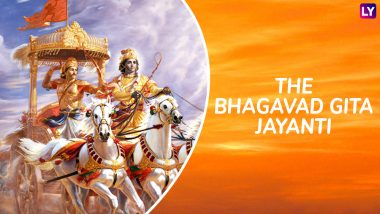 Bhagavad Gita Jayanti 2018: Life-Changing Quotes From the Holy Book of Hindus That Are Relevant Even Today