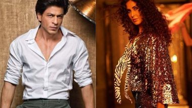 Shah Rukh Khan Reveals How They Handled Katrina Kaif's Hotness on the Sets of Zero Song Husn Parcham