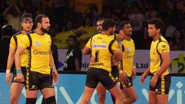Telugu Titans vs Patna Pirates, PKL 2019 Match Free Live Streaming and Telecast Details: Watch TT vs PP, VIVO Pro Kabaddi League Season 7 Clash Online on Hotstar and Star Sports