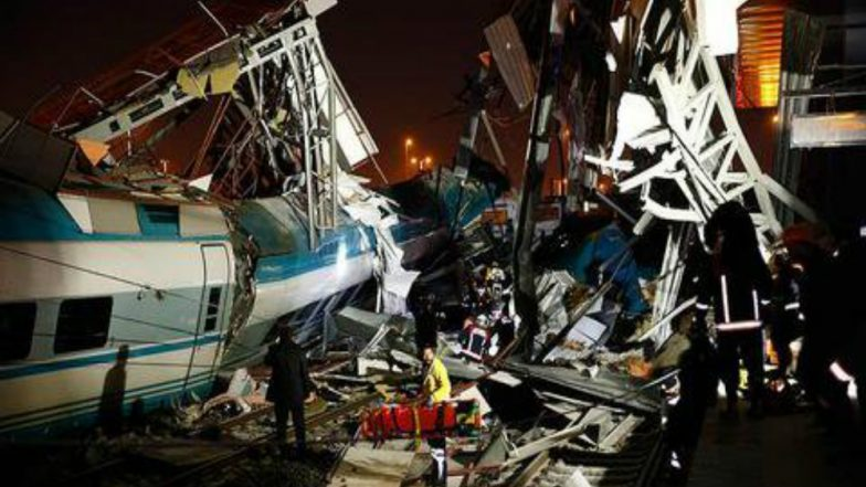 Turkish High Speed Train Crash in Ankara, 4 Dead, 43 Injured