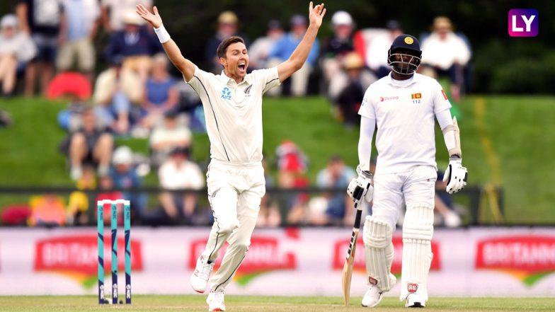 Trent Boult Picks 6 Wickets in 15 Balls During New Zealand vs Sri Lanka 2nd Test at Christchurch: Watch Video Highlights