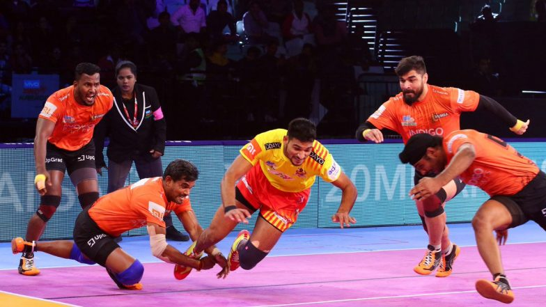 U Mumba vs Bengal Warriors, PKL 2018-19, Match Live Streaming and Telecast Details: When and Where To Watch Pro Kabaddi League Season 6 Match Online on Hotstar and TV?