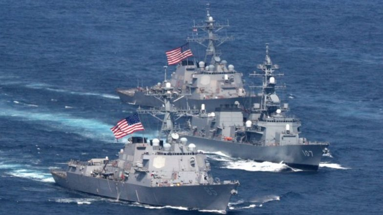 US Warship Poses Free Navigation 'Challenge' to Russian Federation