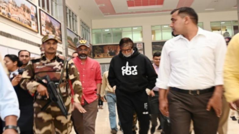Amitabh Bachchan Arrives in Nagpur to Start Shooting for Nagraj Manjule's 'Jhund'