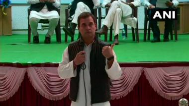 Narendra Modi Shaping 2016 Surgical Strike Into 'Political Asset': Rahul Gandhi in Poll-Bound Rajasthan