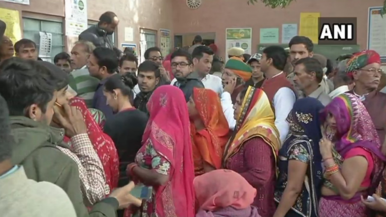 Rajasthan Assembly Elections 2018: Over 20 per Cent Voter Turnout in First 3 Hours of Voting