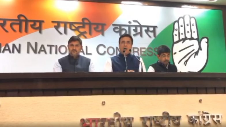 Prime Minister Narendra Modi Has Been Exposed, Cannot Mislead People by Lying: Congress