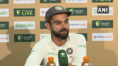 IND vs AUS 1st Test 2018: Our Lower Middle Order Could Have Done Better, Says Virat Kohli at Post-Match Presentation