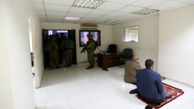 Israeli Military Forces Raid Palestinian News Agency in Hunt for Gunmen Who Shot 7 Citizens Outside Jewish Settlement