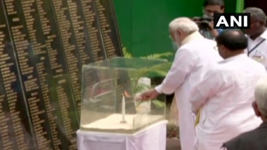 Narendra Modi Pays Tribute to 2004 Tsunami Victims in Andaman and Nicobar Islands