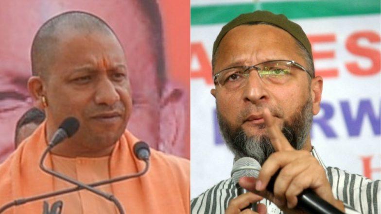 Asaduddin Owaisi, Yogi Adityanath Trade Charges as Telangana Election Battle Heats Up