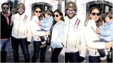 Taimur Ali Khan, Saif and Kareena Kapoor Head to their Favourite Holiday Destination in Gstaad - See Pics