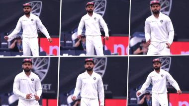 Virat Kohli Funny Dance Video: Indian Captain Caught in Act During India vs Australia 1st Test Match at the Adelaide Oval