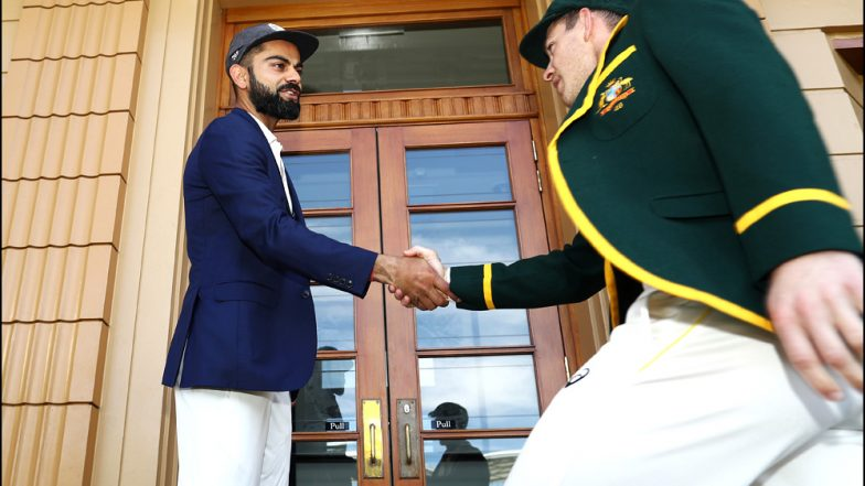 Live Cricket Streaming of India vs Australia 2018-19 Series on SonyLIV: Check Live Cricket Score, Watch Free Telecast of IND vs AUS 1st Test Match, Day 1, on TV & Online