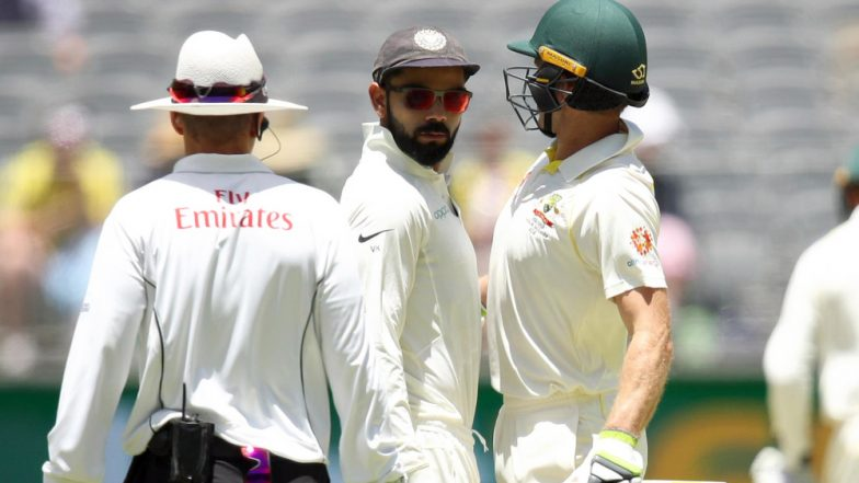 Virat Kohli Loses to Tim Paine in Sledging Contest as India Goes Down to Australia in 2nd Test Match at Perth, Is Indian Captain Crossing the Line Too Often?