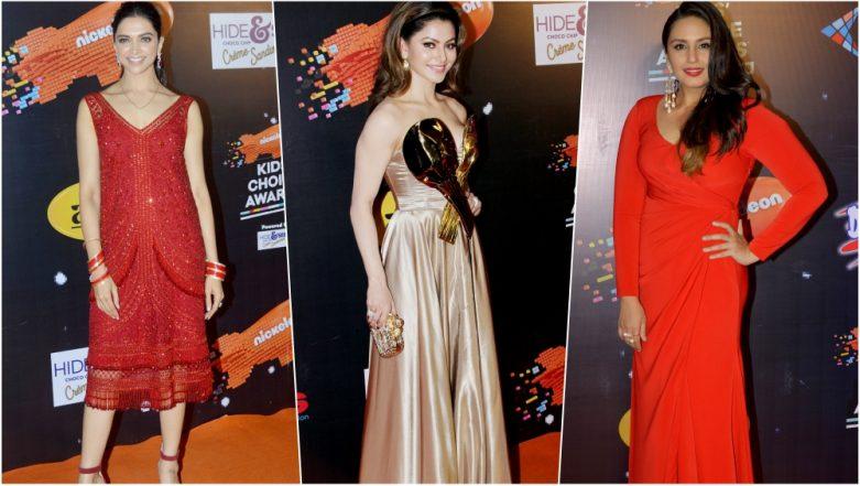 Worst-Dressed Celebs at Nickelodeon Kids Choice Awards 2018: Urvashi Rautela, Huma Qureshi & Deepika Padukone Turn Fashion Disasters – See Pics