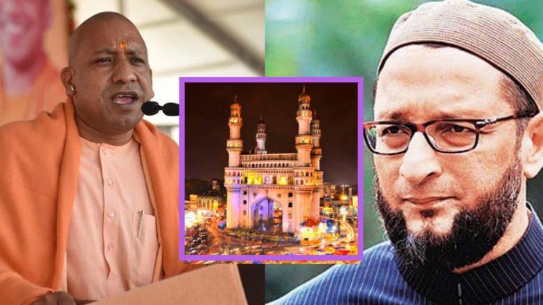 Asaduddin Owaisi Will be Forced to Leave Telangana if BJP Comes to Power: Yogi Adityanath