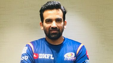 Zaheer Khan Appointed as a Director of Operations for Mumbai Indians Ahead of IPL 2019 Auctions