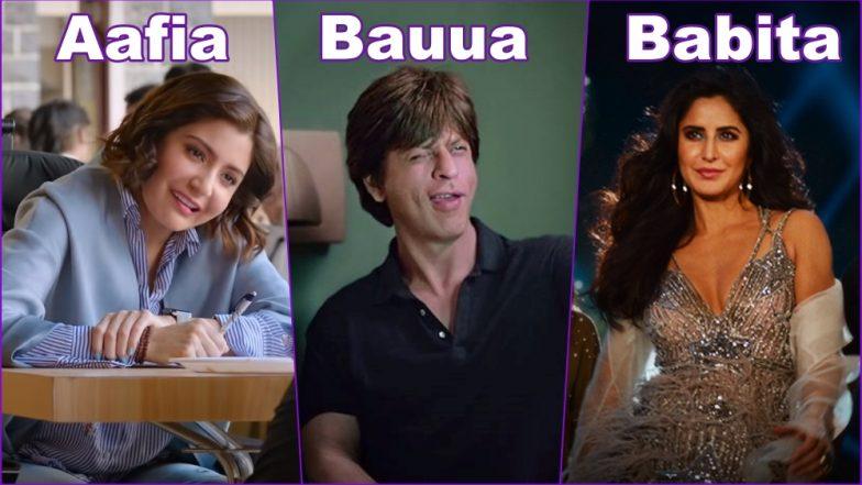 Zero Movie Cast  Whos Playing Who Shah Rukh Khan As Bauua Singh, Katrina Kaif -9495