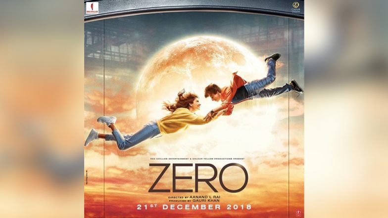 To the Moon and Back! Shah Rukh Khan and Anushka Sharma's New Zero Poster is Dropping Major Hints About the Plot of the Film