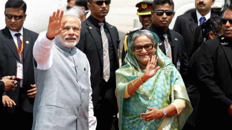 Narendra Modi Congratulates Sheikh Hasina for Landslide Victory in Bangladesh Elections, Assures India's Consistent Support