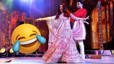 Isha Ambani and Anand Piramal's Sangeet: Aishwarya Rai and Abhishek Bachchan's Performance Turned Into Funny Memes  and Tweets