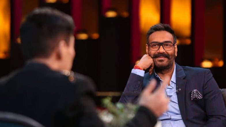 Koffee With Karan 6: Ajay Devgn Wins The Lavish Audi A5 Car For Giving 'Answer of the Season' on Karan Johar's Chat Show