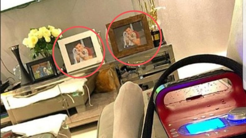 Alexis Sanchez Leaves Fans Puzzled on Instagram With Identical Framed Dog Pictures