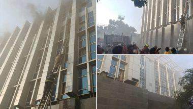 Mumbai Fire: Level-3 Blaze Erupts at ESIC Kamgar Hospital in Andheri