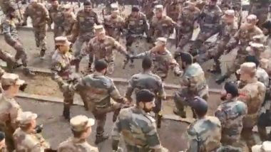 Soldiers of India and China Seen Dancing Together After Joint Military Exercise; Watch Video