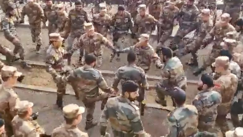 Indian Soldiers Teach Bhangra to Chinese Troops, Dance Together in This Viral Video