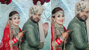 Kapil Sharma Strikes His Classic 'Babaji Ka Thullu Pose' At His Wedding!