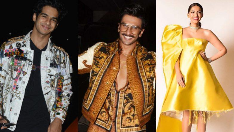 9 Times Celebs Blinged Up More than a Chrismas Tree: See Pics of Sonam Kapoor, Ranveer Singh, Ishaan Khatter
