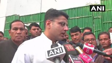 Rajasthan's Oath-Taking Ceremony Will Signify Opposition Unity, Says Deputy CM Designate Sachin Pilot