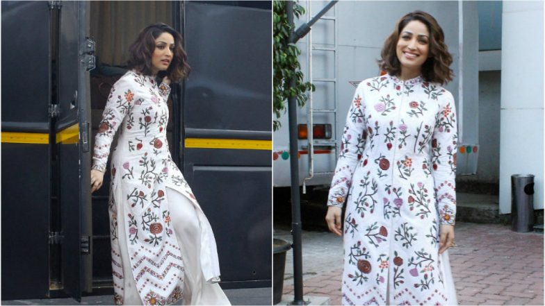 Yami Gautam's 'Tablecloth' Outfit Seems To Suggest Winter Is Coming To Stay Here Forever! View Pics