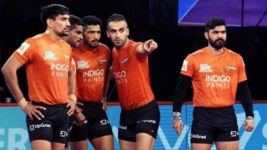 PKL 2018–19 Video Highlights: U Mumba Outclass Dabang Delhi 41–34