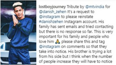 Danish Zehen's Instagram Account Deleted; Vikas Gupta Urges Fans to Request for Its Re-Activation - Watch Video