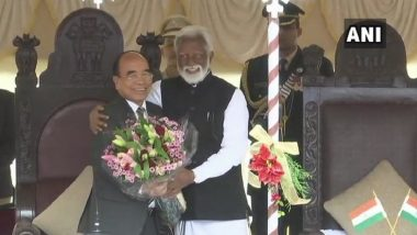 Mizoram: Mizo National Front Leader Zoramthanga Sworn In as New Chief Minister in Aizawl