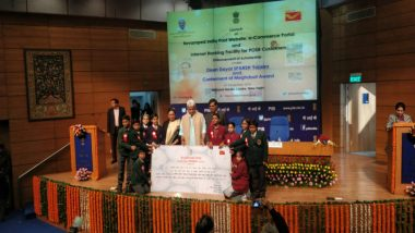 India Post Launches 1st E-Commerce Portal - ecom.indiapost.gov.in; Minister Manoj Sinha Says 'Online Market to Benefit'