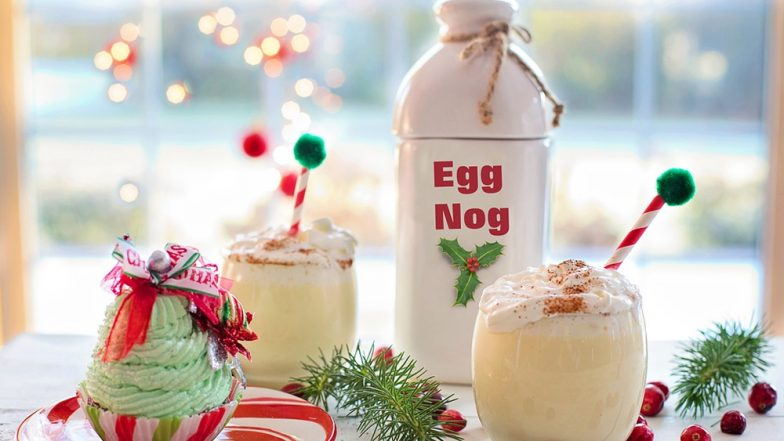 National Eggnog Day 2018: Celebrate Christmas With This Popular Holiday Drink! (Watch Recipe Video)